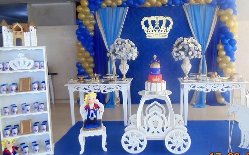 Pequeno Príncipe Azul e Dourado - Foto 10