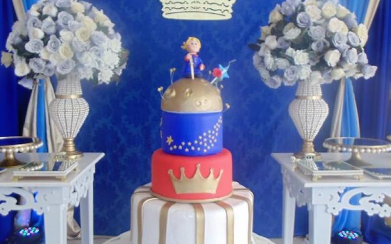 Pequeno Príncipe Azul e Dourado - Foto 8