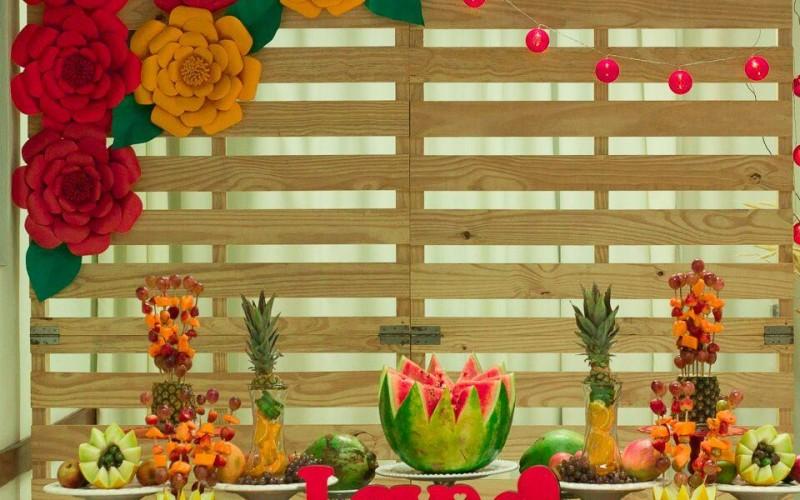 Mesa de Frutas - Foto 1