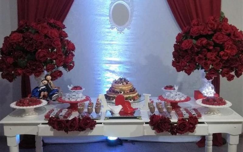 Noivado Vermelho e Branco - Foto 1