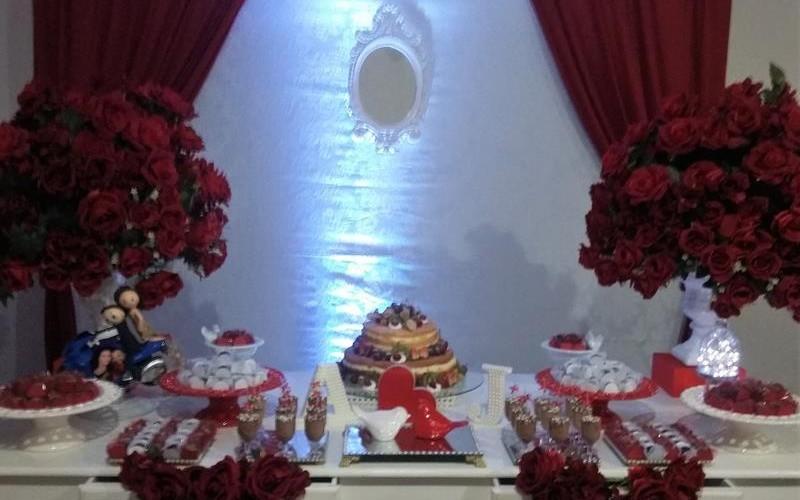 Noivado Vermelho e Branco - Foto 3