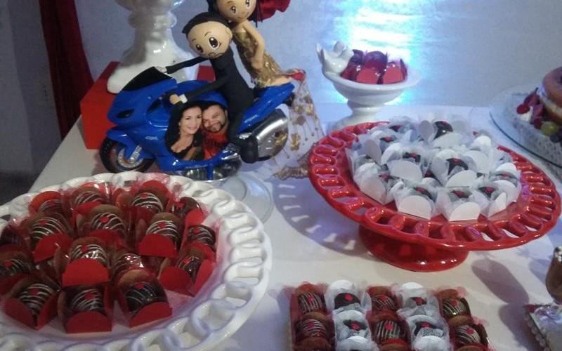 Noivado Vermelho e Branco - Foto 5