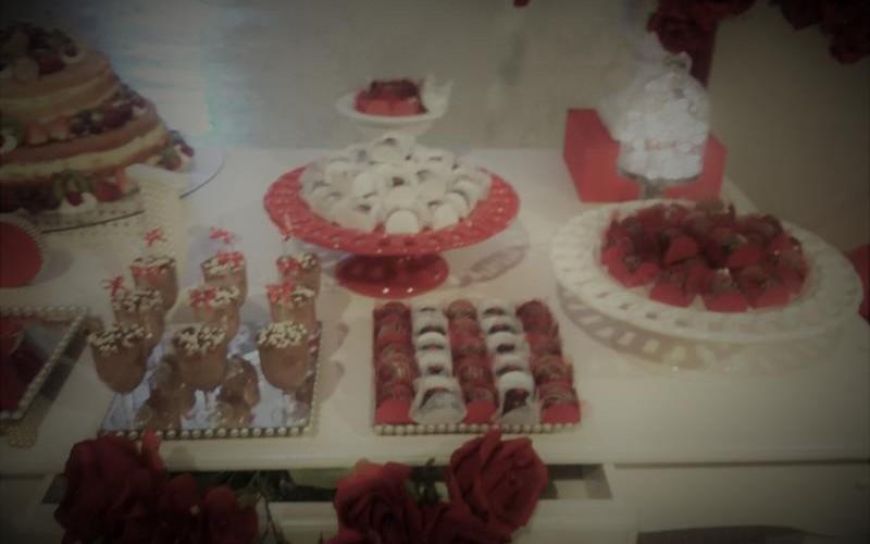 Noivado Vermelho e Branco - Foto 7