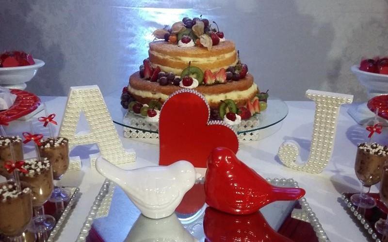 Noivado Vermelho e Branco - Foto 9