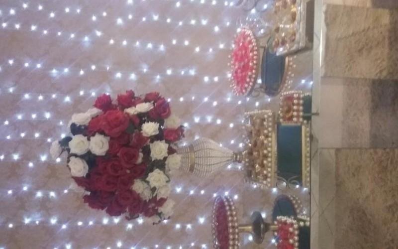 Casamento Vermelho e dourado com led - Foto 9