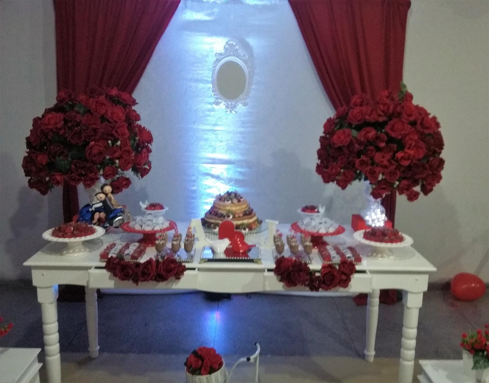 Noivado Vermelho e Branco